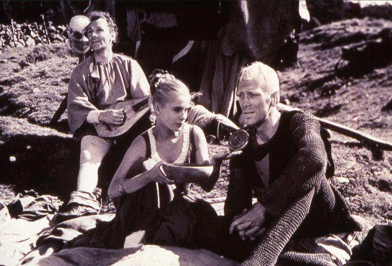 """Bibi Andersson in """"Das Siebente Siegel"""" (1956) von Ingmar Bergman"""